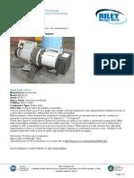 Air compressor hydrovane