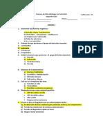 Examen Desarrollado de Microbologia