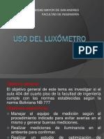 Presentacion luxumetro