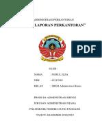 Administrasi Perkantoran (Tata Penulisan Laporan)