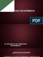 Derecho Económico y El Estado.