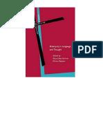 1panter Klaus Uwe Radden Gunter Editors Metonymy in Language
