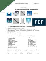 Test unit 1 chimie a VII-a.doc