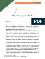 tics y activismo en organizaciones mapuches