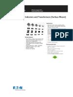Eaton VP Versa Pac Inductors Transformers Data Sheet