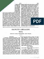 Arialdus Diaconus, Vita Operque [Ex Andrea Vallumbrosano. Discipulo], MLT