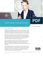 Ixia Cyber Range Training Services