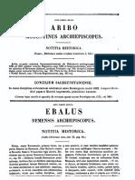 Aribo Moguntinus Episcopus, Vita Operaque [Ex Bibl Mediae Infimae Latinit], MLT