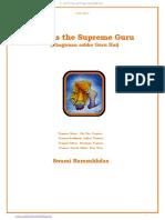 12 God is the Supreme Guru