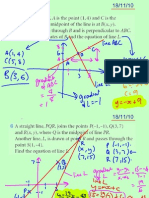 Core Revision Straight Lines 181110