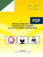 Libro para practicar portugués Gestão Do Tempo
