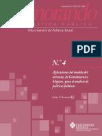 Aplicación Modelo Artesano Giandomenico Majorne
