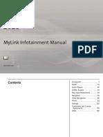 Chevrolet Mylink Manual