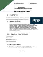 Informe Final 2 Circuitos Electricos