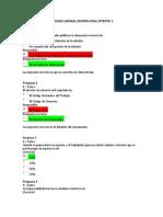 Derecho Laboral Examen Final Intento 1