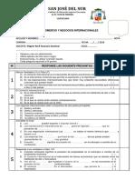Examen Parcial de Comercio y Negocios Internacionales a Entregar