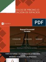 Los Modelos de Pricing o Contratación de Espacios