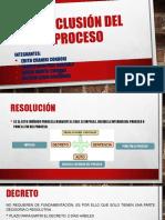 CONCLUSION DEL PROCESO