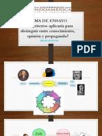Ensayo Exposicion