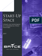 StartUps in the Space Industry 2019