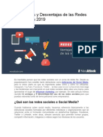 23 Ventajas y Desventajas de Las Redes Sociales en 2019