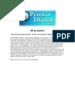 Pérolas Diarias