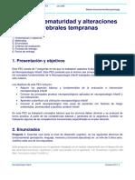 Prematuridad y alteraciones cerebrales tempranas. modelo de solucion UOC