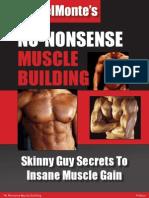 39795329 No Nonsense Muscle Building