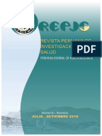 REVISTA PERUANA  DE INVESTIGACION MEDICA Vol. 3 Núm. 3 (2019)