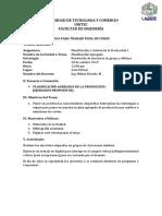 Guía de Trabajo Final de Curso - PCP-I - Planificación Agregada