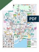 Mapa Turistico Barcelona 2019