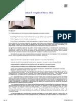 Relectura Biblica Terapeutica El Evangelio