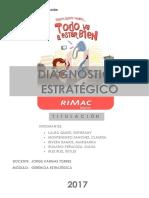 Diagnóstico Estratégico - RIMAC SEGUROS