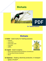 Biofuels - Liquid, Gaseous, PPT