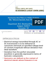 Harmonics and Filter in HVDC
