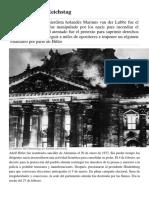 El Incendio Del Reichstag, Teorias