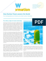 How Nuclear Power Powers the Bomb - IPPNW Germany Report