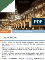 Process Desing Development 4