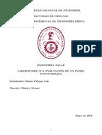 Informe_Evaluación de Un Panel FV