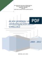 Plan General de Investigacion 2008 - 2012 Definitivo