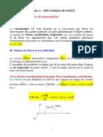 Chap 2 VF Mecanique Du Point SVTU 2019