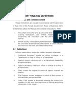 32596637 Manual of Secretariat Instructions Final