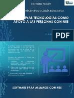 Tecnología Como Apoyo en Las Nee