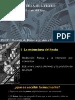 Semana 5. La Arquitectura Del Texto.