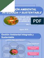 Gestión Ambiental Integrada y Sustentable
