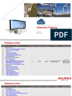 AltaiCare Training Notes v2.1