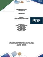 Informe Laboratorio 1 S.o-1