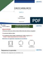 HIDROCARBUROS 1 - Práctica  N°4 - UCSUR - Química Orgánica - 2I1 2I2