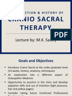 Introduction & History of Cranio Sacral Therapy