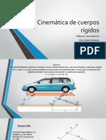 Cinemática de Cuerpos Rígidos Wilberto Lobo y Elias Reales